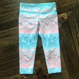 Ivivva/Lululemon Girls Crop leggings